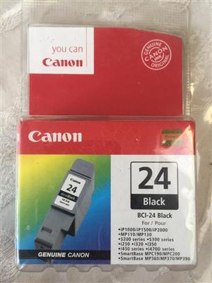 Canon BCI-24 Black Ink Cartridge - new and unused