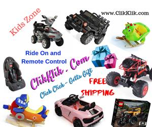 Ride on and Remote control toys for Kids