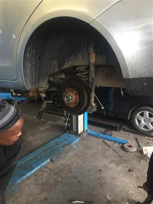 VW Polo Rear Axle (Safely Removed)