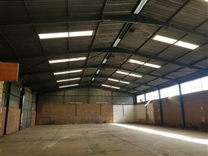 35mx20m (700sqm) Steel structure with sheeting