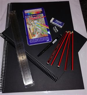 Artist Pencil Sketch Set