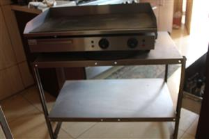 Flat grill - electric