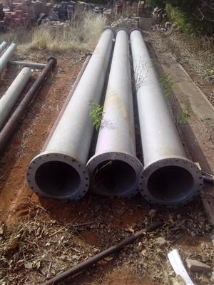 400mm Galvanised pipes