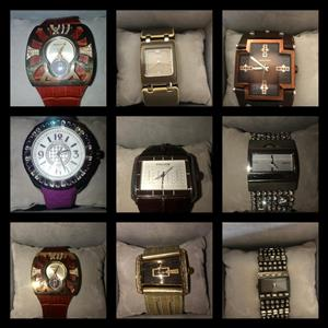 Second hand watches