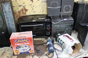 Potjiekos stove,ottimo stove and hi fi