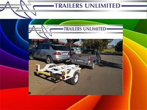 1800 X 1200 TRAILERS UNLIMITED WATER TANK TRAILER.