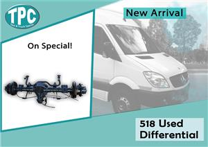 Mercedes Benz Sprinter 518 Used Differential For Sale at TPC