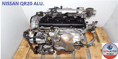 IMPORTED USED NISSAN QR20 ENGINE