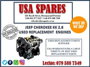 JEEP CHEROKEE KK 2.8 USED REPLACEMENT ENGINES