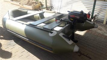 3.2meter specimen boat with 3hp motor