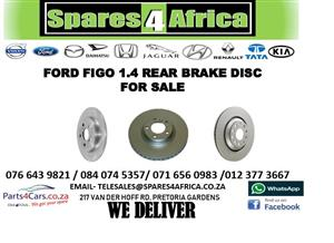 FORD FIGO 1.4 REAR BRAKE DISC