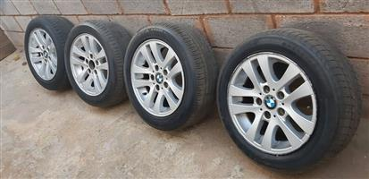 BMW Rims and Tyres for sal