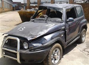 Ssangyong korando 2005 Stripping for spares
