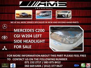 MERCEDES C200 CGI W204 LEFT HEADLIGHT