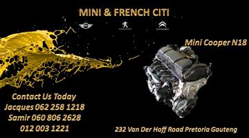 Mini Cooper N18 R56 Engine For Sale