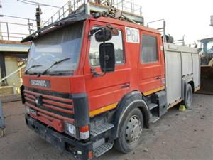 Scania 93M Fire Truck - ON AUCTION