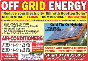 Off The Grid Energy