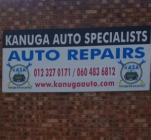 KANUGA AUTO MECHANICS-SPECIALIST IN PANEL BEATING,SPRAY PAINTING AND MECHANICAL WORK