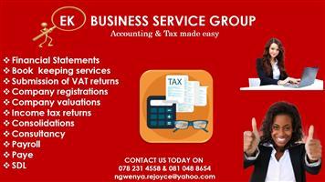 EK BUSINESS SERVICE GROUP
