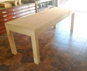 Rustic Tables Made to Order. Norwegian Pine.