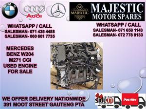 Mercedes benz W204 CGI 271 engine for sale