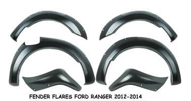 FENDER FLARES FORD RANGER 2012 - 2014