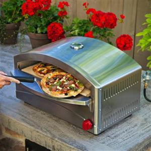 Atlas Stainless Steel Gas Pizza oven - Direct from the supplier - Courier only R200 anywhere in SA