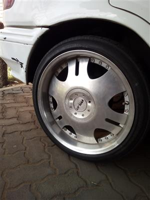 17inch mags and tyres for tazz, Corolla