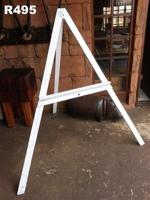 White painting easel for sale
