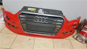 Audi A3  Front Bumber and Grill For sale