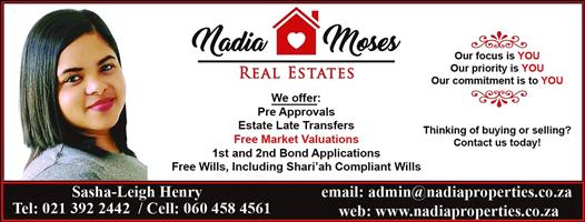 Free Market Valuations all areas. No-Obligation