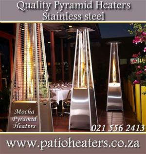Dancing flame gas Stainless Steel Patio Heater