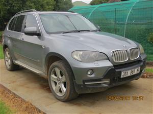 2007 BMW X series SUV X5 4.8is steptronic