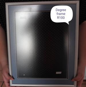 Degree frame for sale