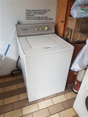 Speed Queen Heavy Duty Top Loader Washing Machine