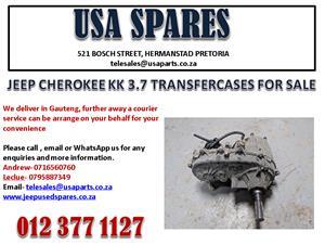 JEEP CHEROKEE 3.7 KK TRANSFER CASE FOR SALE.