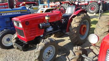 Red Yanmar 336  4x4 Pre-Owned Tractor