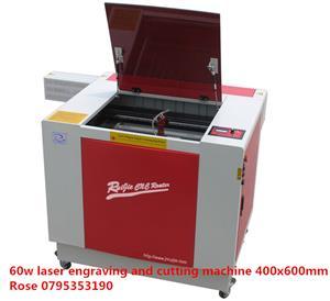 RJ6040 MINI 60w Laser engraving and cutting machine