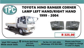 Toyota HINO Ranger Corner Lamp Left Hand/Right Hand 1999 - 2004 - For Sale at TPC