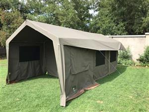 Tentco Sahara Delux with side pannels