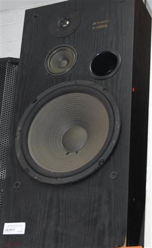 Sansui 3 way speaker system 150W S031816A #Rosettenvillepawnshop