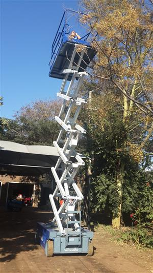 VerticalZA Scissor Lift Iteco IT12122 - 14m Electrical cherry picker Manlift