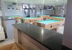 Licenced pool and sports bar for sale
