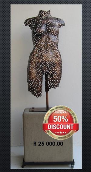 STEEL ART BY ANNALIZE 50% DISCOUNT SALE