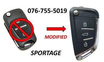 Kia Sportage Spare Key
