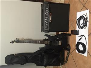 ESP LTD M-50 Guitar, Amp and Accessories for Sale