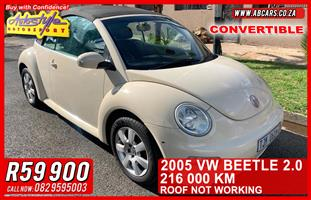 2005 VW Beetle 2.0 Highline