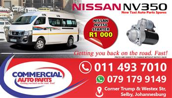 Starter For Nissan Nv350 Impendulo For Sale.