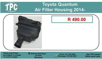 Toyota Quantum Air Filter Housing 2014 For Sale.