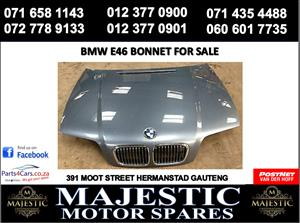 Bmw E46 bonnet for sale
